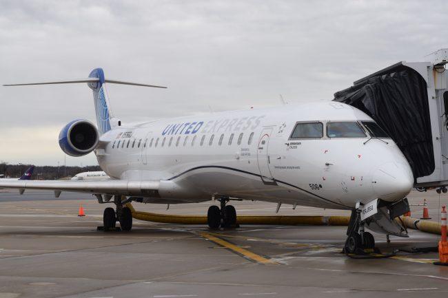 United Airlines Debuts New Smaller Regional Plane At Harrisburg International Central Penn Business Journal